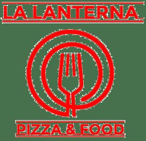 Logo pizzeria La Lanterna Costabissara rosso 2